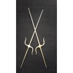 Manji sai (stainless steel) 67 cm